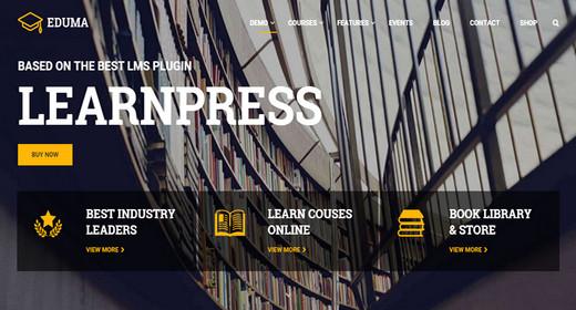 WordPress Education Theme