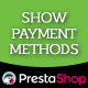 Show Payment Methods