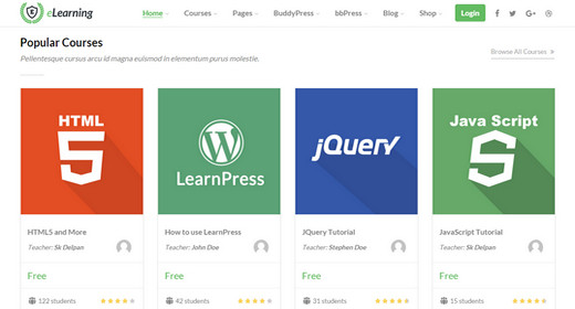 Best LMS (Learning Management System) WordPress Themes