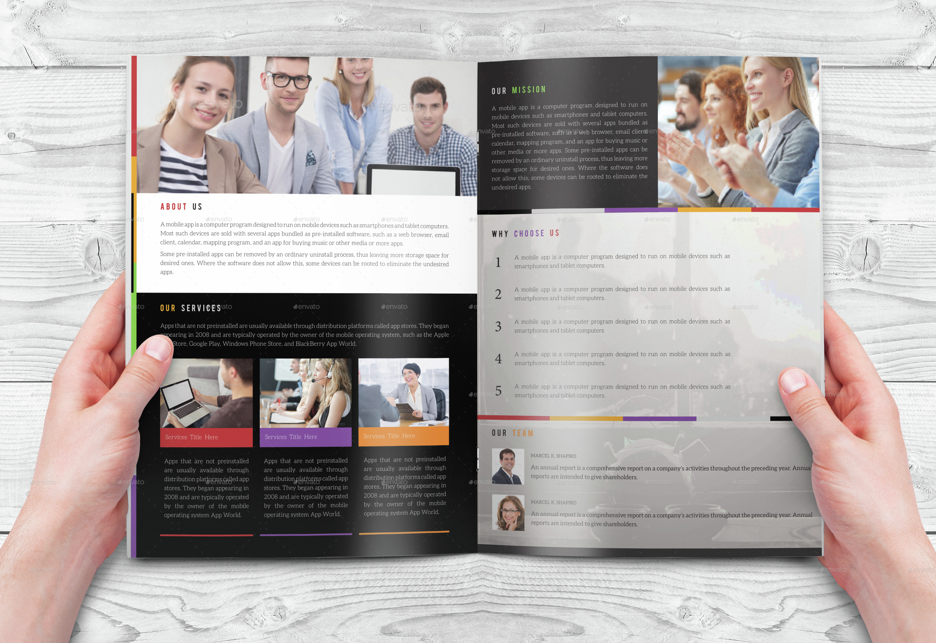 indesign bi fold brochure template - bi fold indesign brochure template by arnabkumar