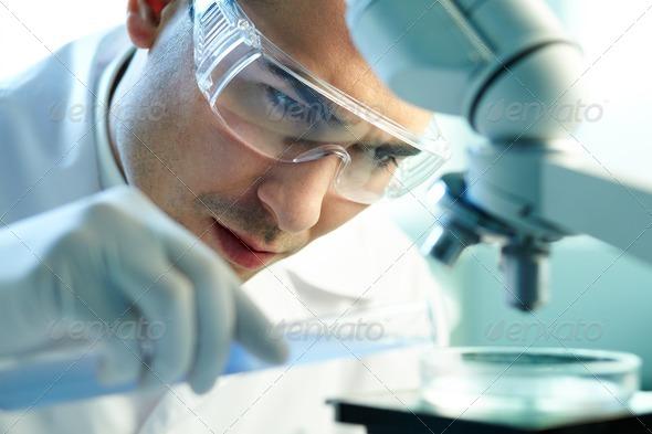 PhotoDune Chemist at work 1507102
