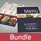 Restaurant Food Menu Bundle