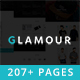 Glamour - Multipurpose OnePage & MultiPage Template