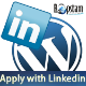 Apply with Linkedin For Wordpress