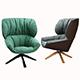 B&B ITALIA Tabano armchair