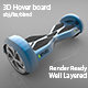 3D Hover Board