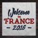 France 2016 Football Euro Badges