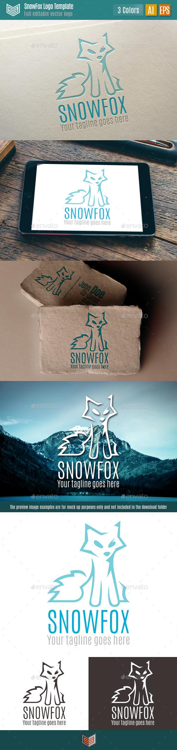 Snow Fox Logo