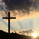 Big Cross at Sunset