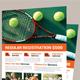 Tennis Players Flyer Template