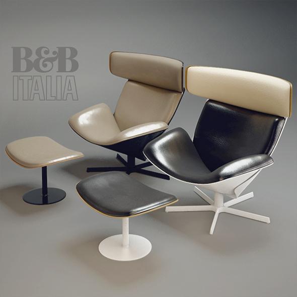 B&B ALMORA - 3DOcean Item for Sale
