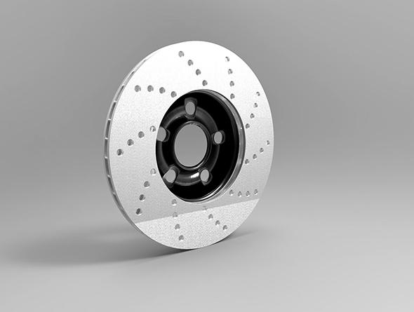 3DOcean Brake Rotor 15047981
