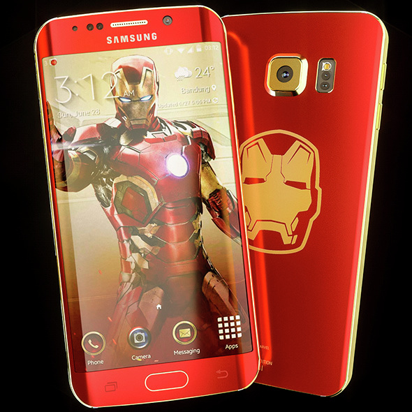 Samsung Galaxy S6 Edge / Iron Man - 3DOcean Item for Sale