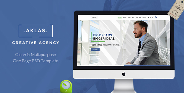 AKLAS - Multipurpose  Business PSD
