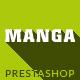 Manga - Premium Responsive Prestashop Theme