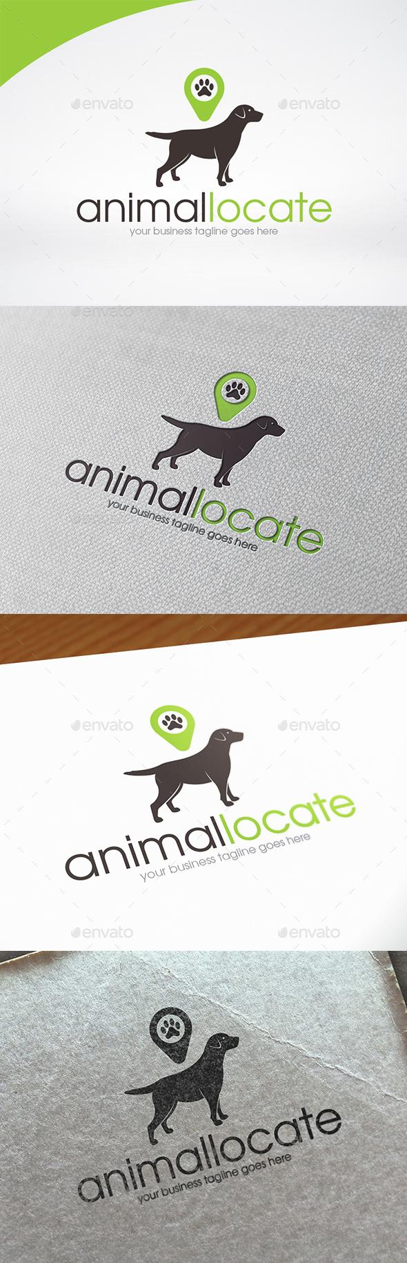 Animal Locator Logo Template