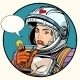 Love Woman Cosmonaut Cocktail