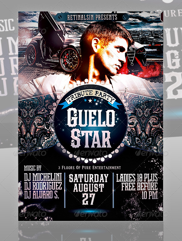 GraphicRiver Guelo Star Flyer Template 471580