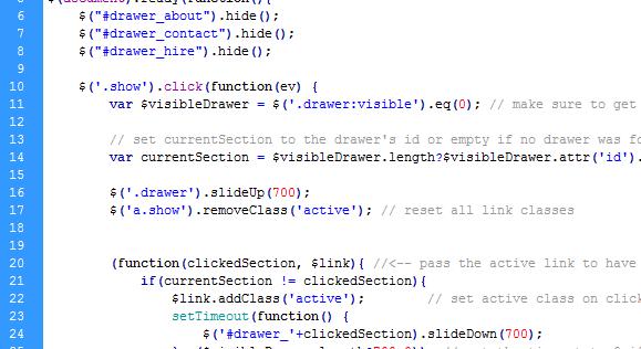 Sherlock - HTML Portfolio