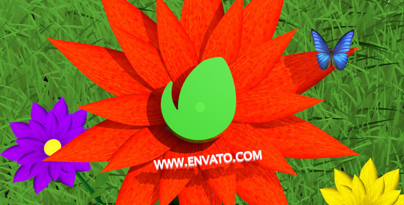 Download Flowers Logo Opener 4D nulled download