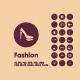 Fashion simple icons