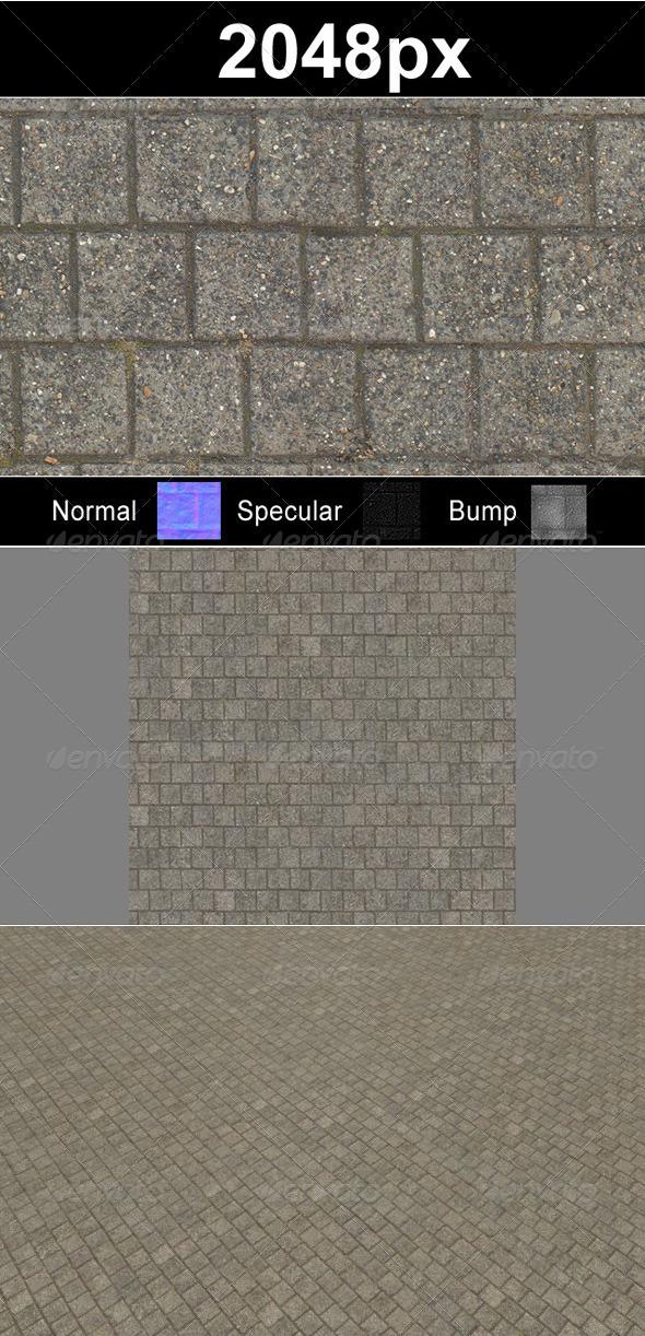 3DOcean Paver Blocks 5 1506327
