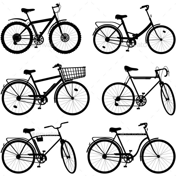 Bicycle Pictogram Set 2