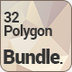 Polygon Backgrounds Bundle