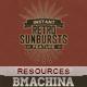 Instant Featured - 77 Retro Sunbursts