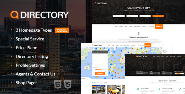 Directory Multi Purpose Html Template