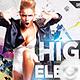 Flyer High Elektro Party