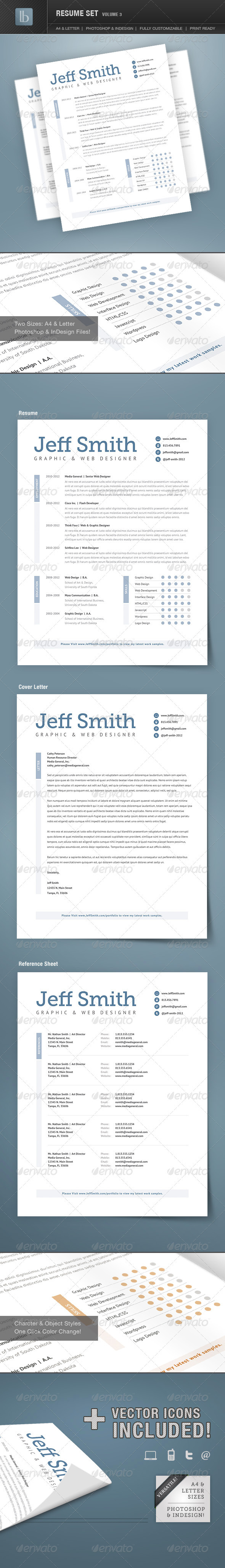 Resume Set | Volume 3 - Resumes Stationery