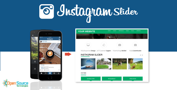 Instagram Slider
