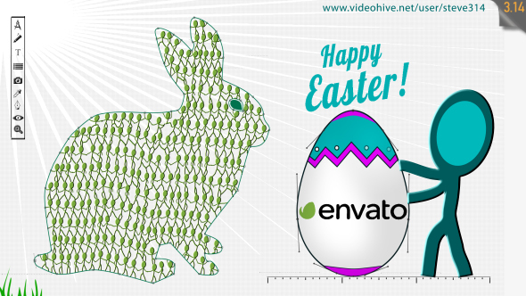 Easter Greetings - Digital Signage - 4