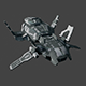 SciFi Spaceship_Bomber