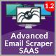Advanced Email Scraper - SaaS Pack
