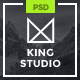 King Studio - Creative PSD Template