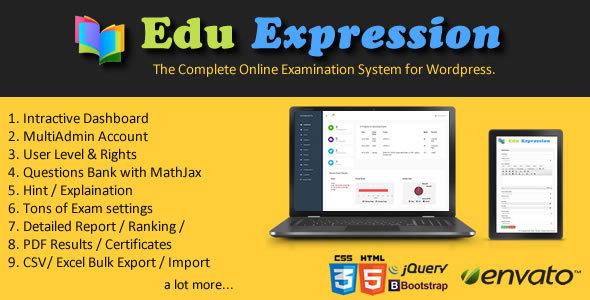 Edu Expression Online Examination System Pro