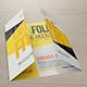 17 x 11 Gate Fold Brochure Mockup