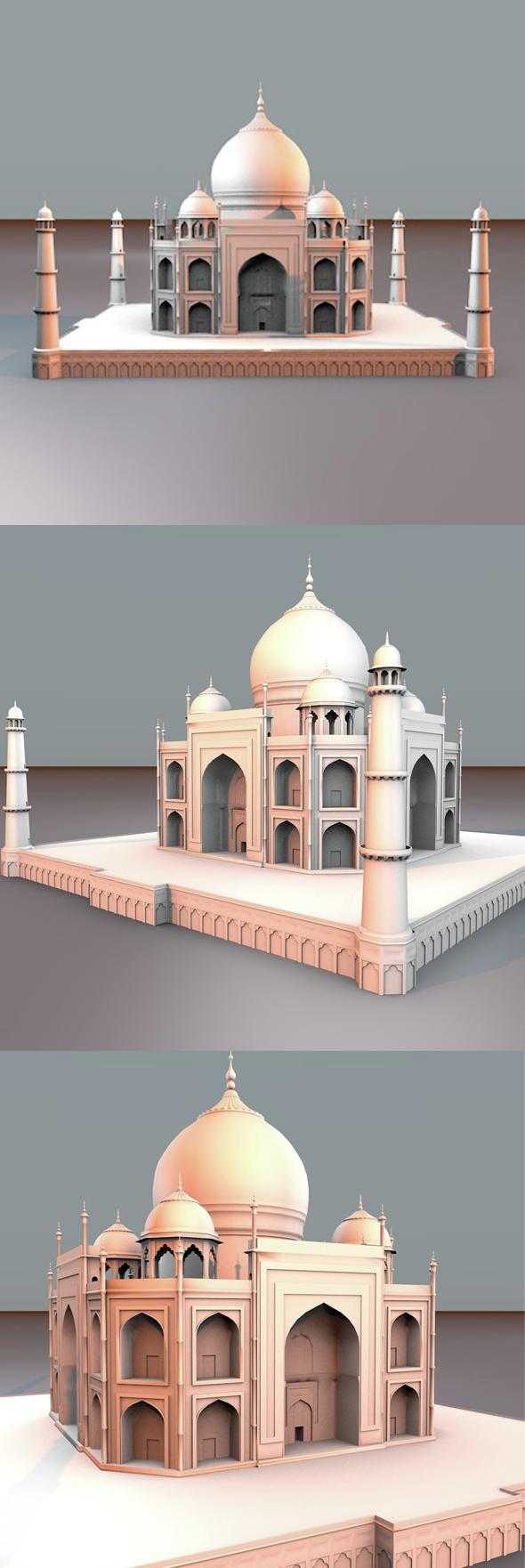 Taj Mahal - 3DOcean Item for Sale