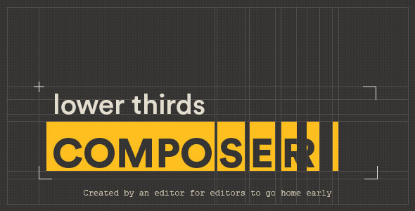 Lower Thirds Composer | After Effects Script