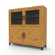 Highboard 138 x 45 x 140 cm