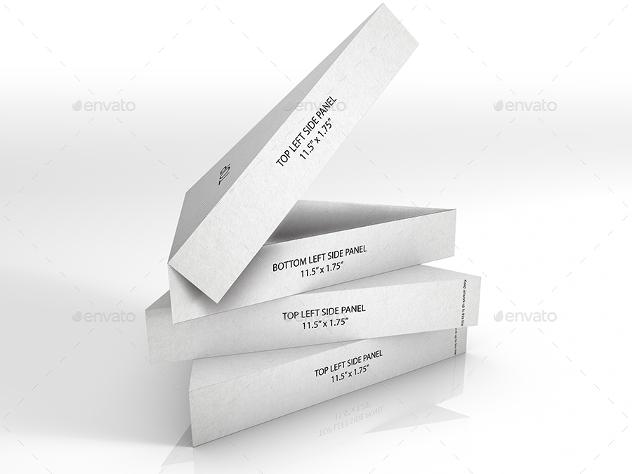 Packaging Mock Up Pizza Slice Box By Ina717 Graphicriver