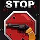 Stop Gun Violence Poster