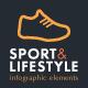 Sport & Lifestyle Infographic Set