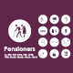 Pensioners icons