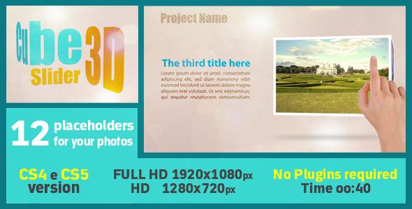 Cube Slider 3d