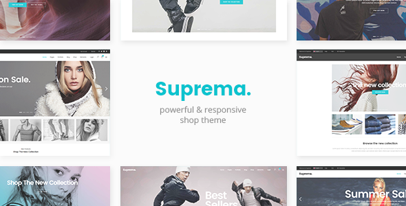 24 - Suprema - Multipurpose eCommerce Theme