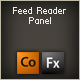 feed reader panel component - ActiveDen Item for Sale