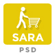 Sarashop - Ecommerce PSD Template